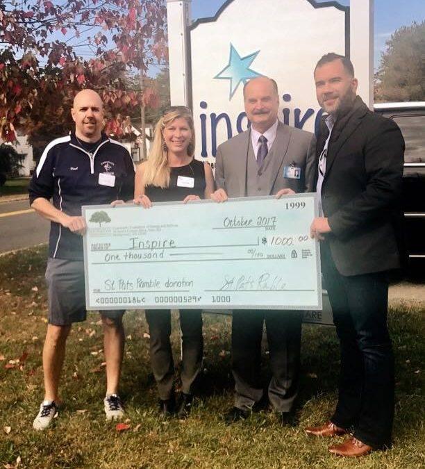 St. Pat's Ramble INSPIRE Donation