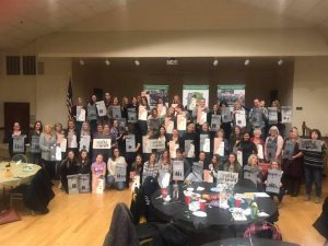 Sip & Paint to support The St. Pat's Ramble @ Village of Montgomery Senior Center