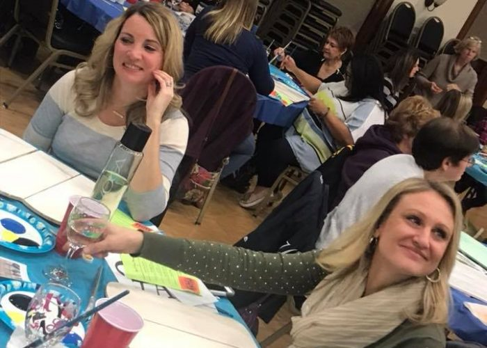 2017 Sip & Paint to support The St. Pat's Ramble!