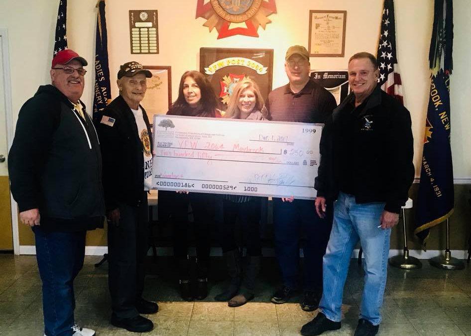 VFW & American Legion Donations