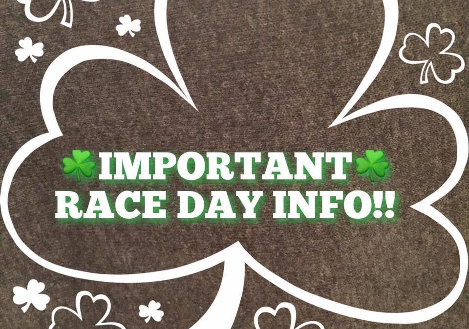Race Day Information