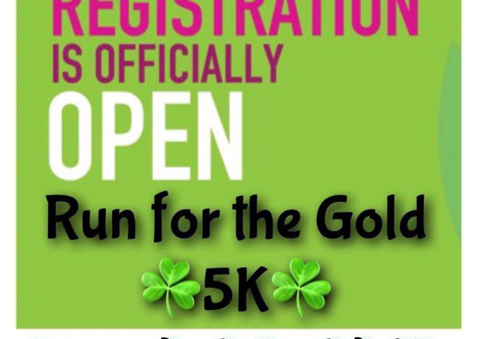 2019 Run For The Gold 5K Race Registration